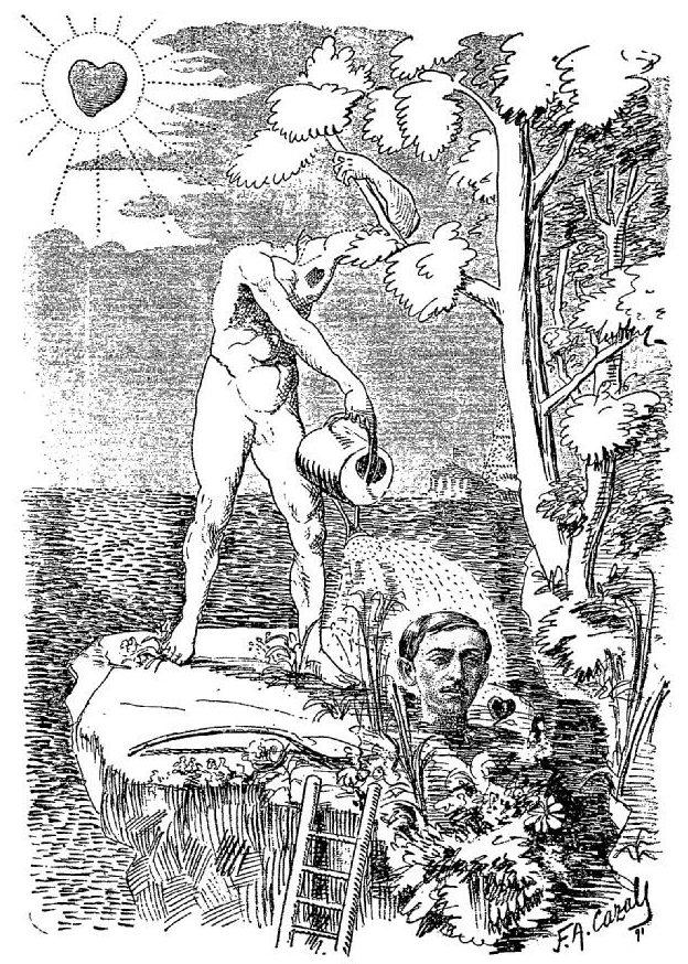 PLUME CAZALS 1er avril 1891