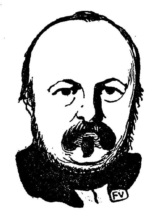 NERVAL PORTRAIT VALLOTTON