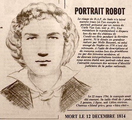 PORTRAIT ROBOT SADE