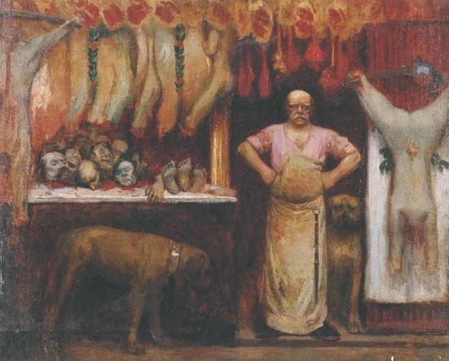 VEBER LA BOUCHERIE 1897