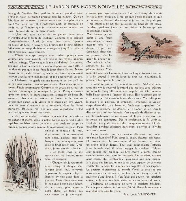 LA SIRENE D'EAU DOUCE - VAUDOYER (2)