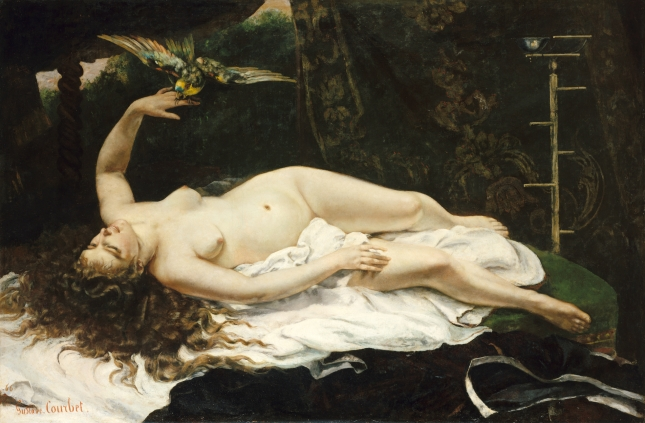 COURBET PERROQUET