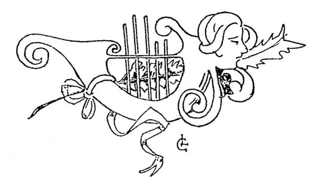 LETTRINE HOMME SINGE