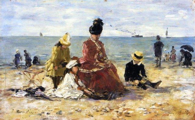 Eugene-Louis Boudin - plage