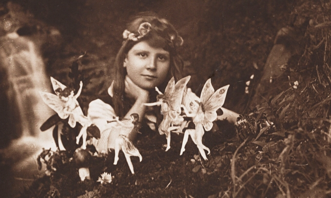 Alice and the Fairies, July 1917.