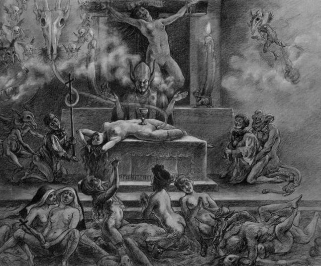 Messe noire Felicien Rops
