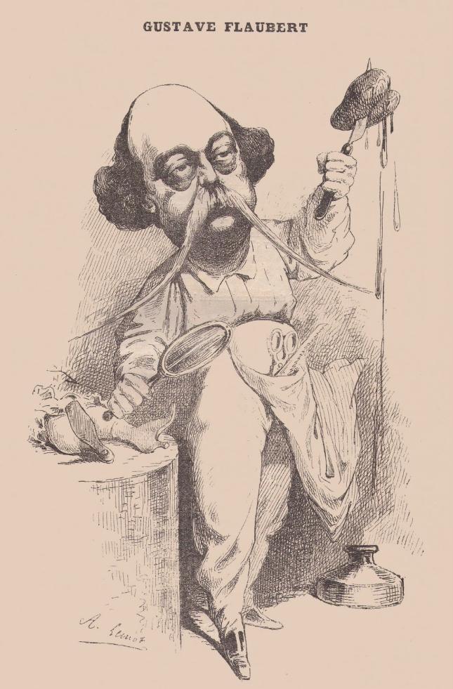 Flaubert Parodie Lemot