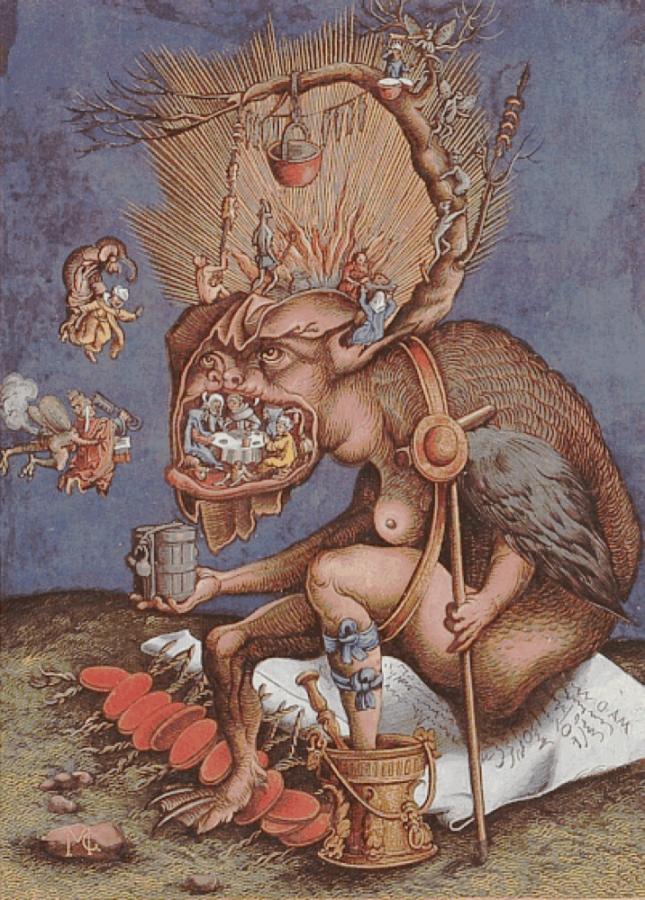 David de Necker, le mendiant infernal, c. 1559
