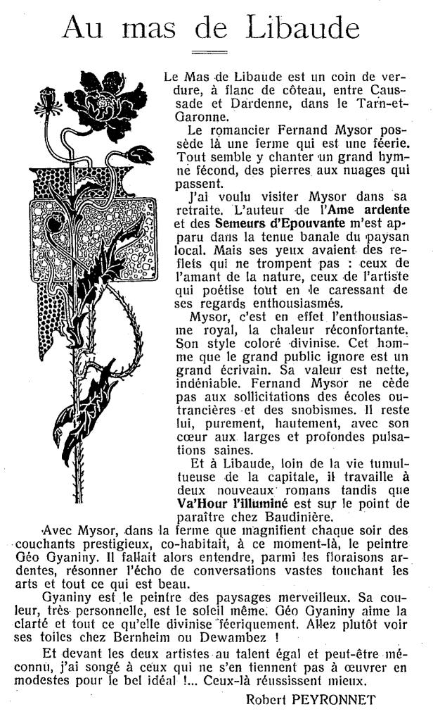 libaude-mysor
