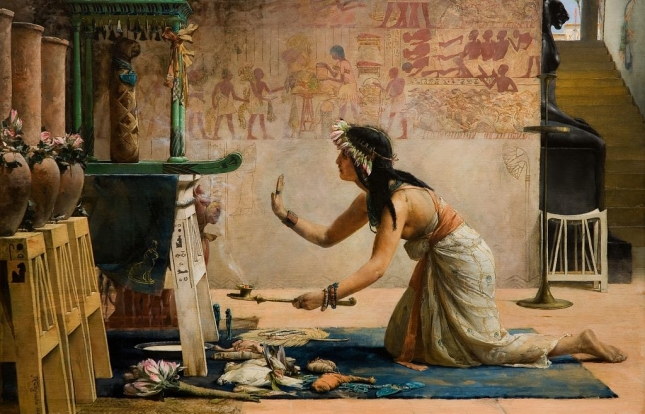 john-reinhard-weguelin-obsequies-of-an-egyptian-cat